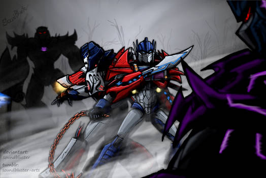 Through the fog...