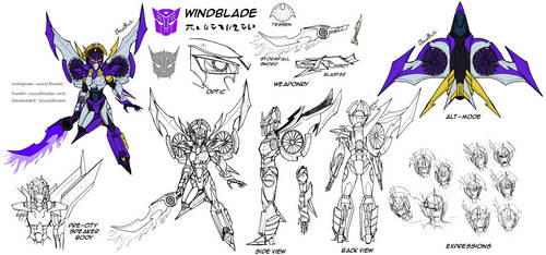 Reference Sheet SG: Windblade