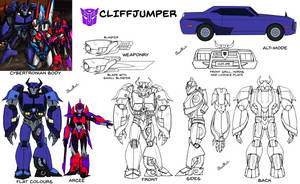 Reference Sheet SG: Cliffjumper