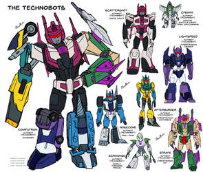 Minor Characters 8: Technobots