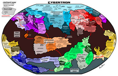 Shattered Glass Cybertron Map