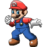 SSB4 Mario Pixelart by SuperMarioOfficial
