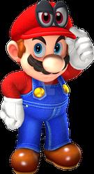 Super Mario Odyssey Render - Mario and Cappy