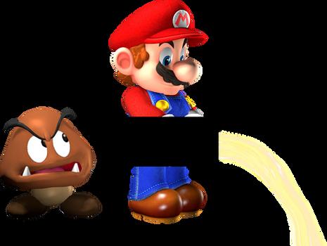 Mario Pissing 3D
