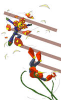 Plant Man vs Quick Man by LJSLarsson