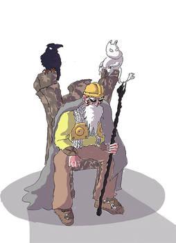 Oden, King of Gods