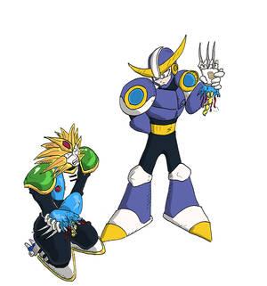 Ballade vs Slash Man