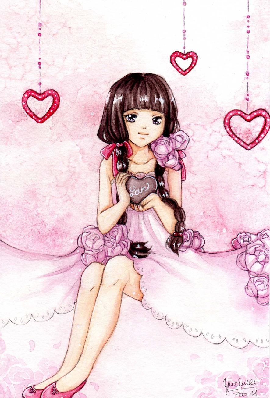 Little Peony - Valentines Day 2012 by YueYuki