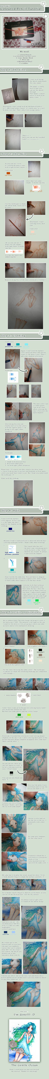 Color Pencil Tutorial by YueYuki