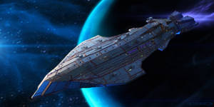 Kalarian Battleship Shark-Class