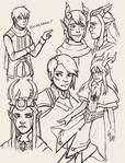 The Dragon Prince Sketches