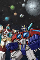 TF:Cybertron Mock Cover (colors) by VegetaPrime