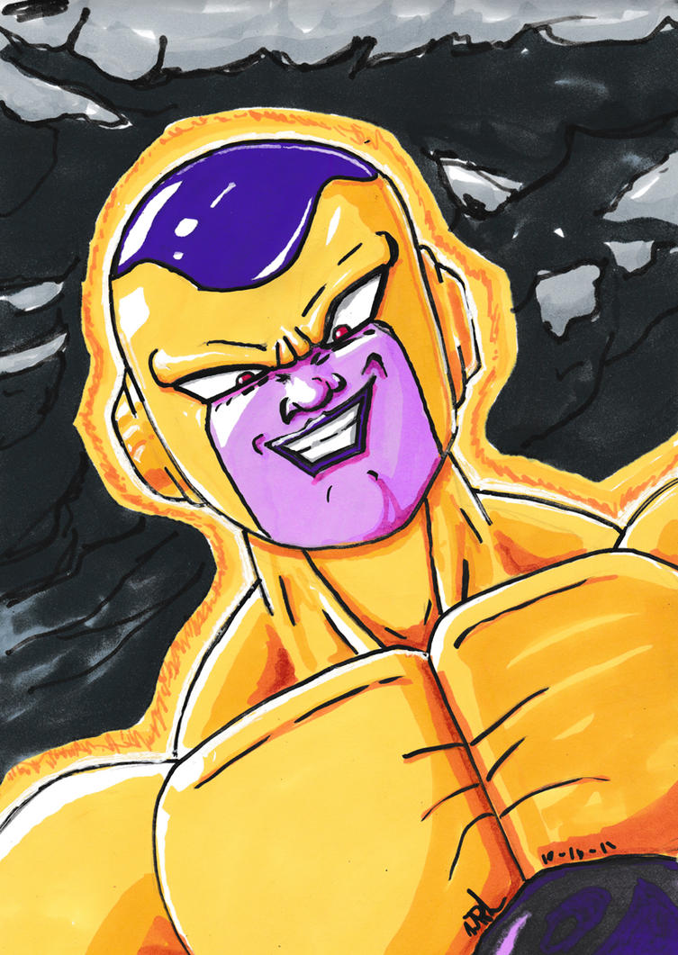 inktober_day_16__golden_frieza_by_vegeta