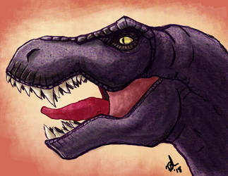 Beast Wars Megatron Dino mode by VegetaPrime