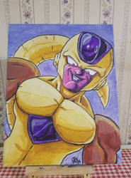 Golden Frieza by VegetaPrime