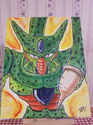 Imperfect Cell by VegetaPrime
