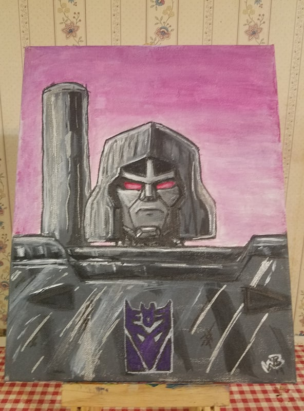 G1 Megatron by VegetaPrime