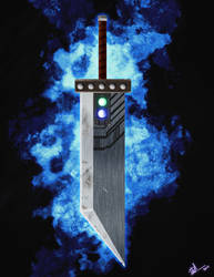 Cloud's Buster sword