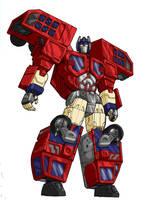RID Optimus Prime by VegetaPrime