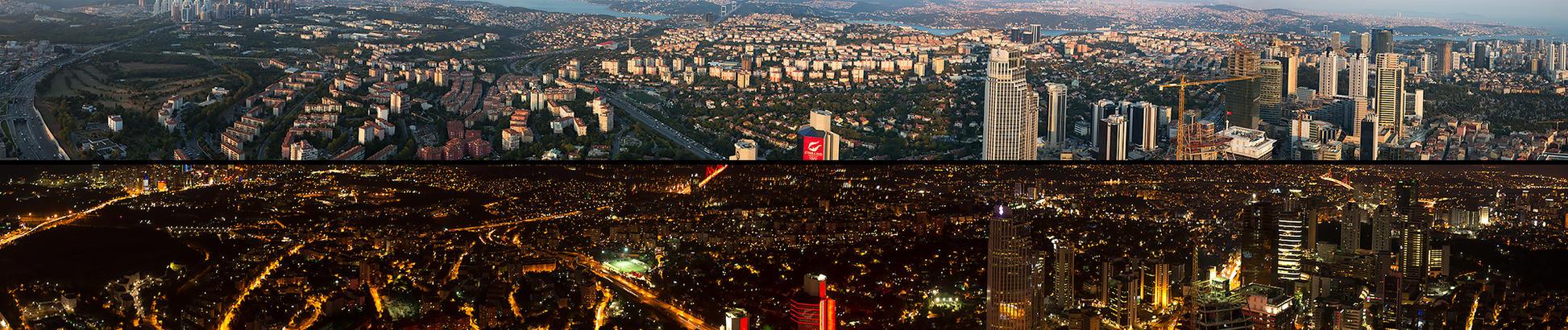 istanbul day / night by gokcentunc