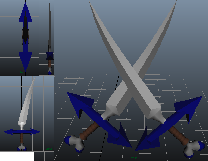 Scarnfix's Cutlasses, 3D by PumpkinApprentice431