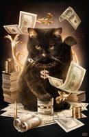 Fortune Cash Cat by maximegirault