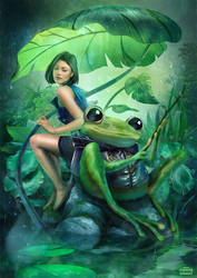Fishing with Frog