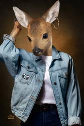 Animal familly portraits 04 Deer