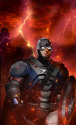 Mashup: Capt. America /CAPT ARMOR