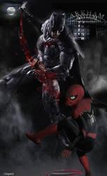Versus Series: Batman vs Spiderman2 Arkham Phobia