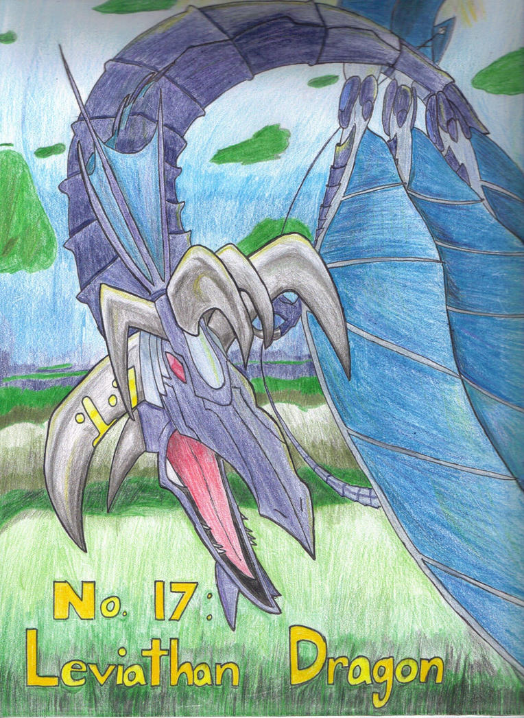 Number 17: Leviathan Dragon by ElectroBlade on DeviantArt