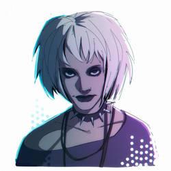 misty cyberpunk