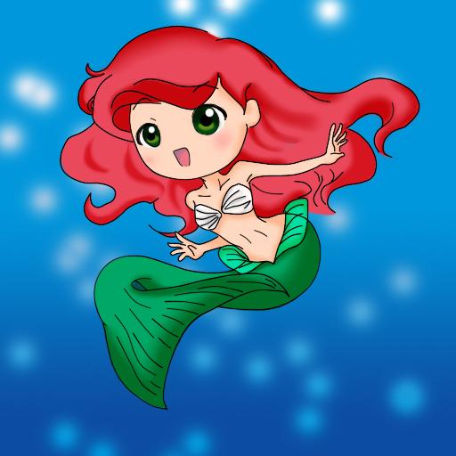 ARIEL Chibi Mermaid ^___^ By Spiffy27 On DeviantArt