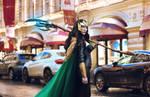 Lady Loki by StarSirena