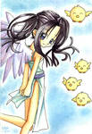 little wingged girl