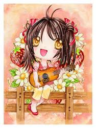 ..::Strawberries..and..Music::.. by izumika