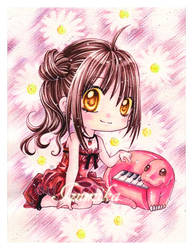 ..::Pink::Piano::.. by izumika