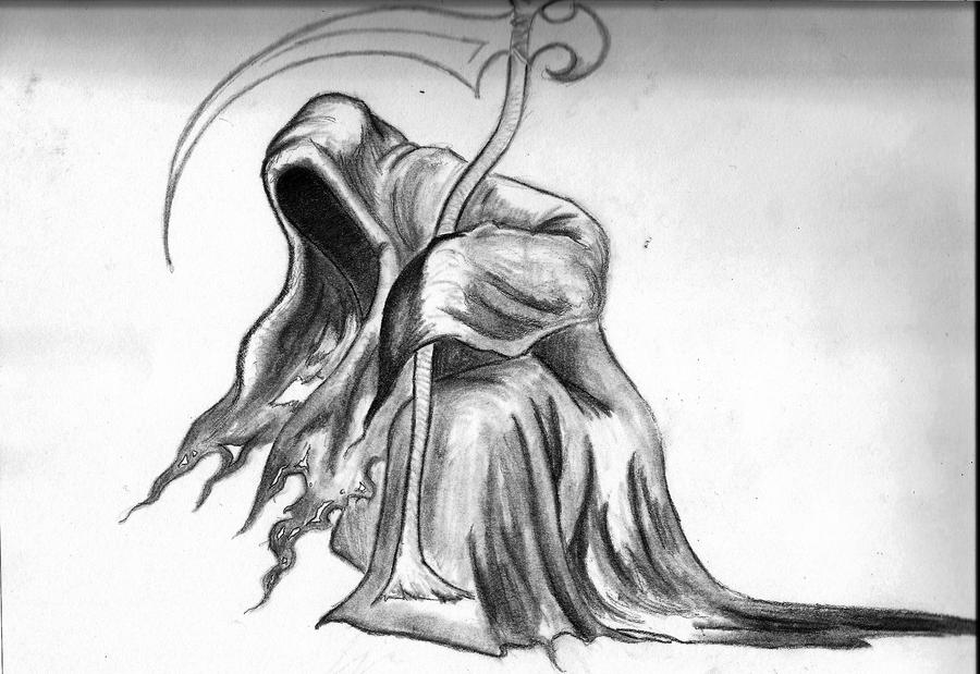 Awesome Drawings Of The Grim Reaper