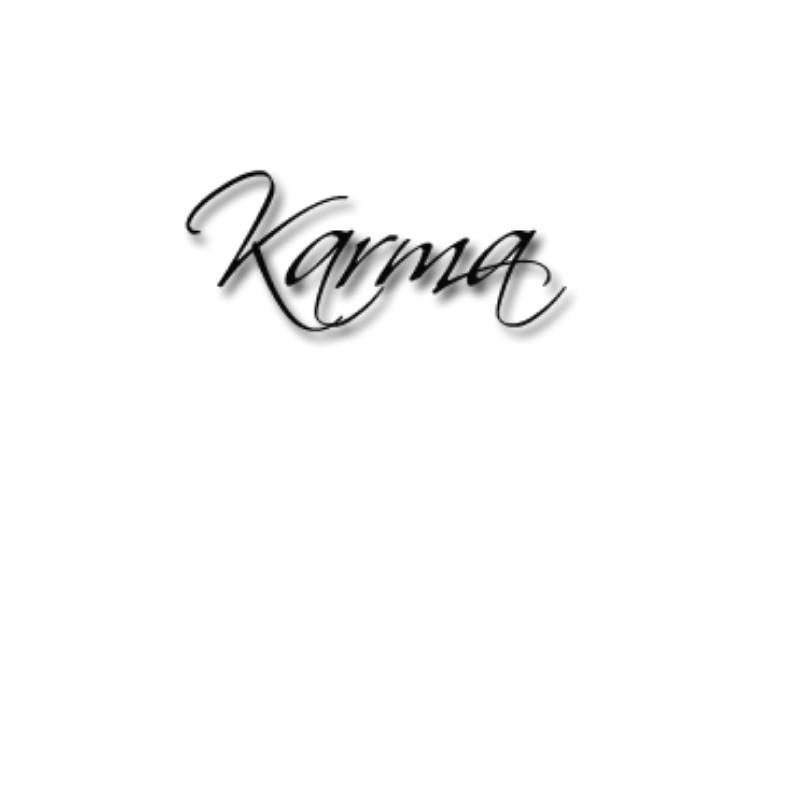 asian tatto style karma