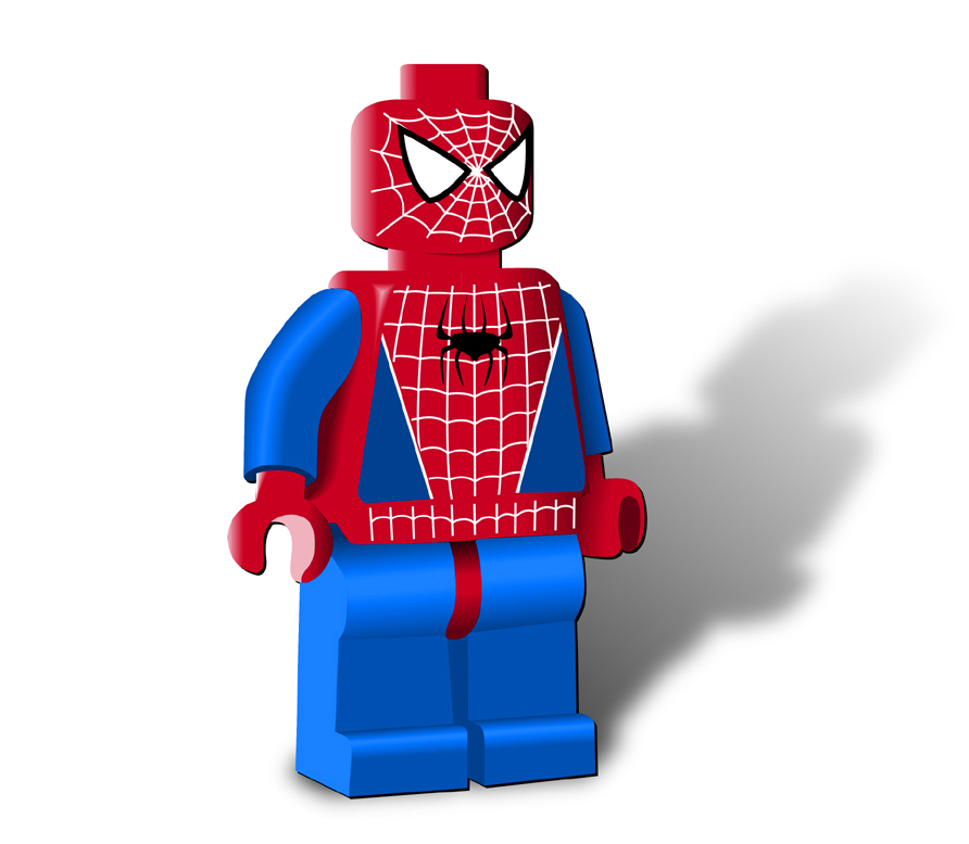 lego man vector - photo #14