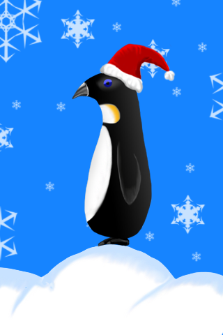 the christmas penguin by gravedesires777