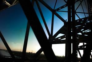 Huey P. Long bridge by gravedesires777