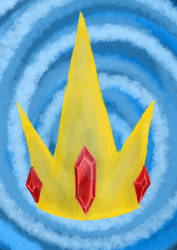 Ice king crown by gravedesires777