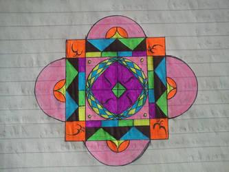 Unfinished Mandala by Hattmannen