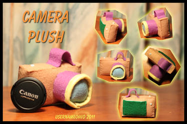 Camera Plush by username0hi0