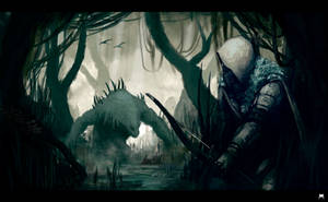 Swamp Hunter by monodogart