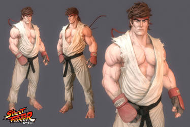 Ryu fan art