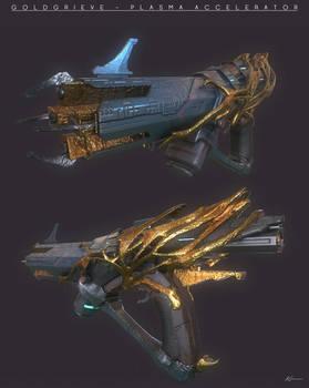 Goldgrieve - weapon design