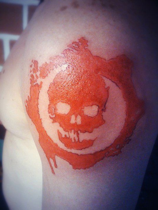 gears of war logo tattoo by leandroalvarez on DeviantArt