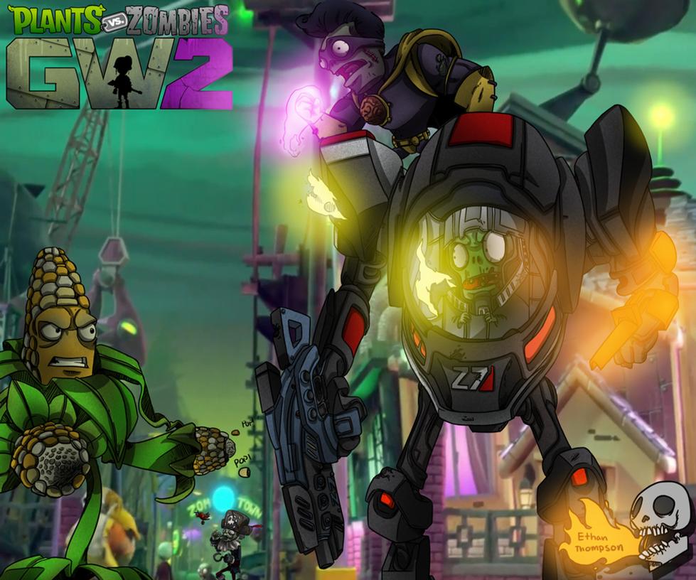 Plants Vs Zombies Garden Warfare 2 By Blinddeafghost On Deviantart